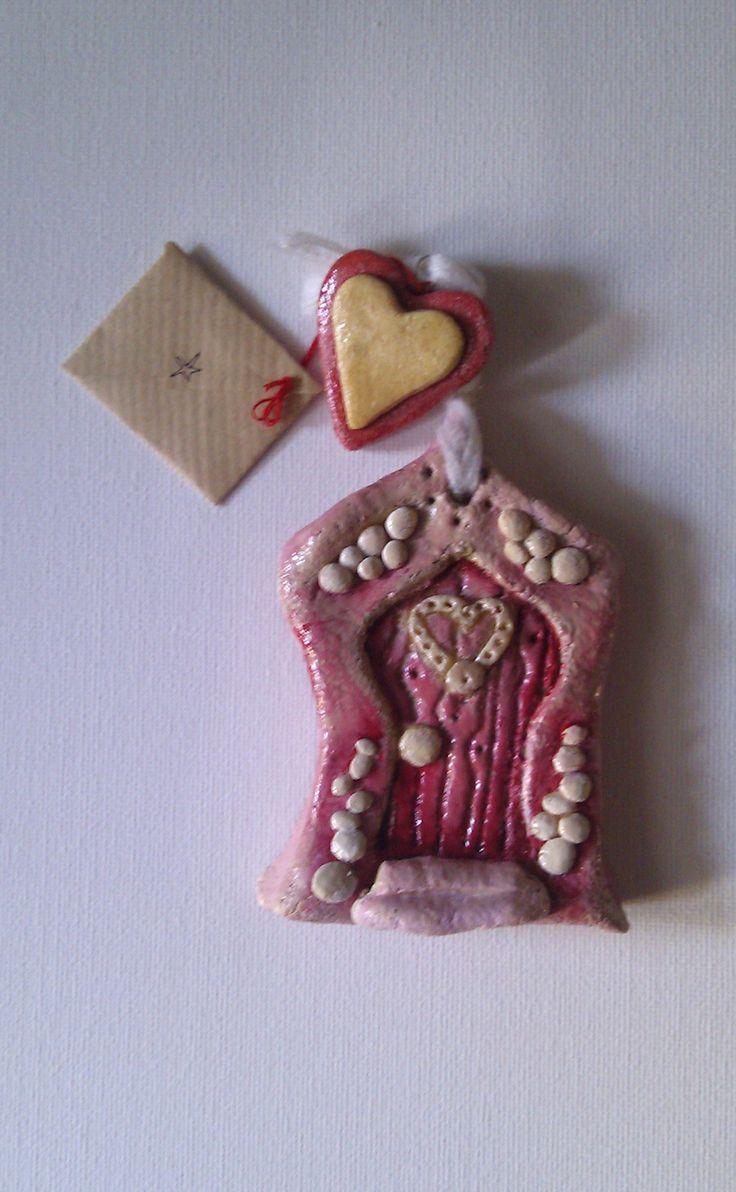 Mini Handmade Fairy Door, £5  - We wonder which fairy is behind this door ?