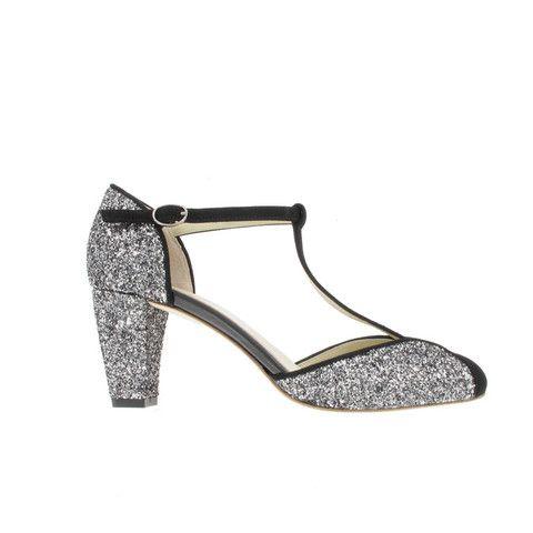 Anniel Stilettos Grey Heels - Lama 1798 www.myfashiontribu.com