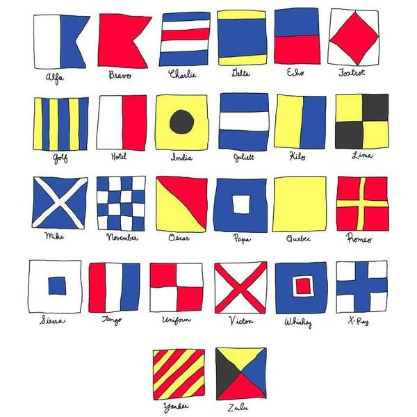 Hail Tiger Nautical Signal Flags White By ($35) ❤ liked on Polyvore featuring home, home decor, wall art, posters, white tiger poster, white home accessories, tiger poster, white wall art and nautical home accessories