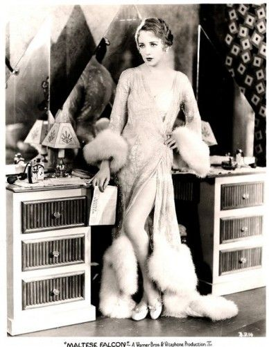 Bebe Daniels in The Maltese Falcon (1931)