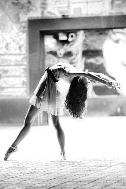 I really want to take pictures that tell a story of a dancer. How inspiring