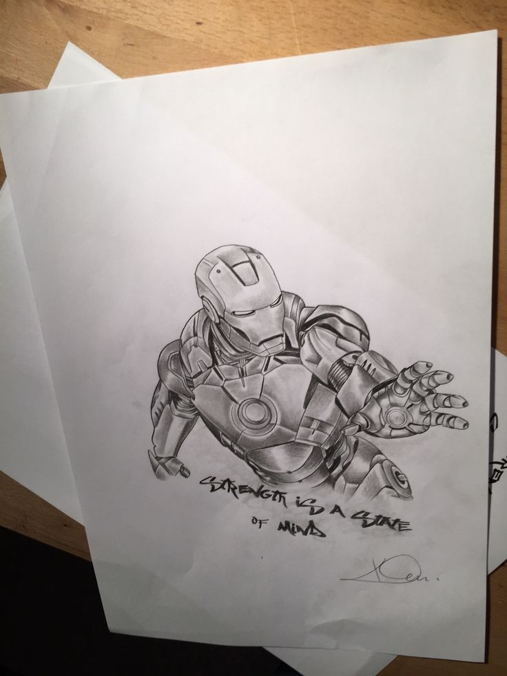 #tattoodrawing#iron Man