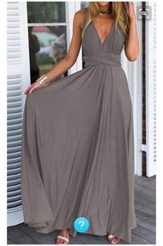 dress long dress sleeveless dress grey dress prom dress boho dress boho chic