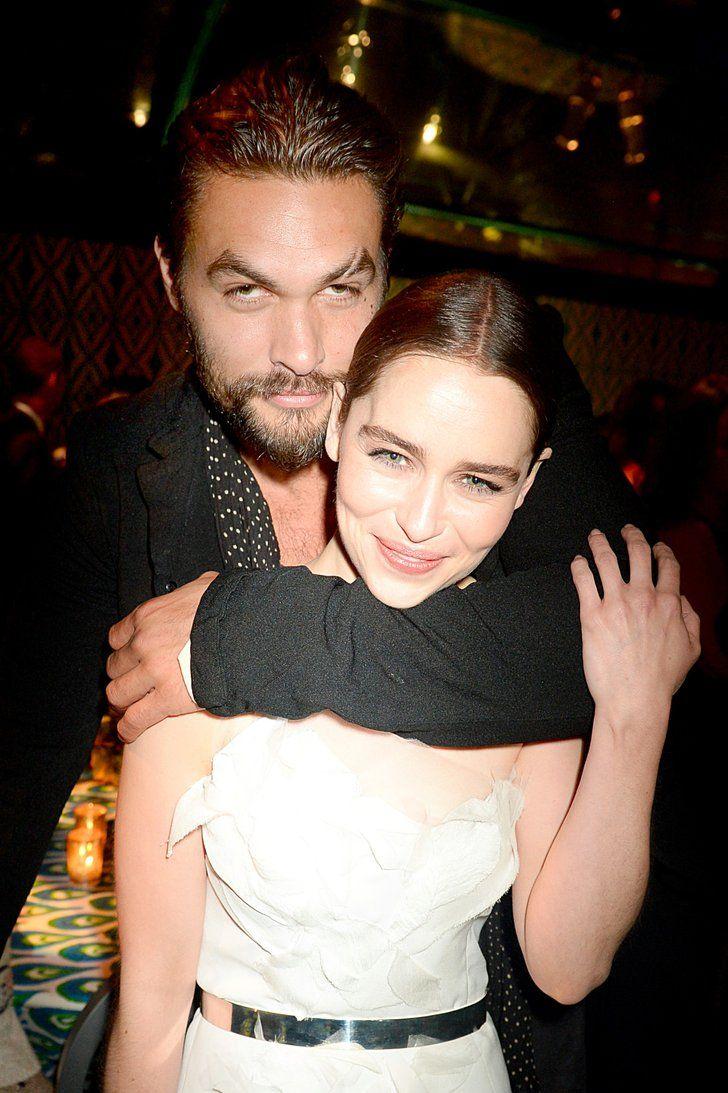 Jason Momoa and Emilia Clarke's Cutest Friendship Moments
