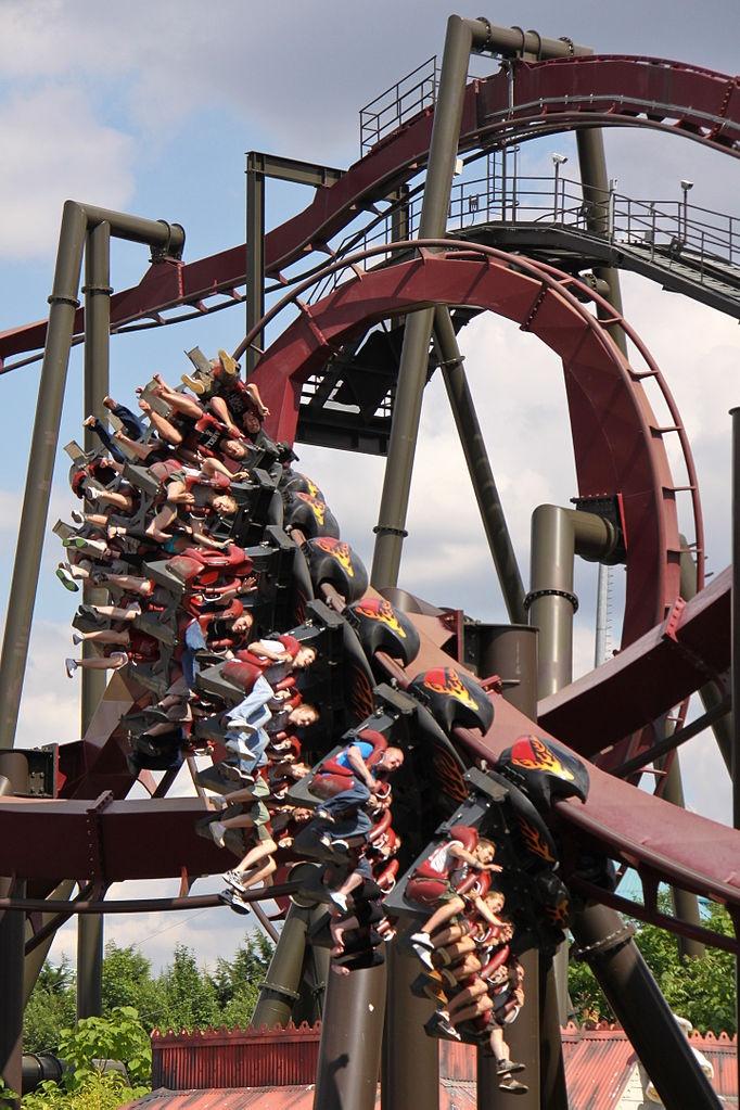 Nemesis Inferno, Thorpe Park #rollercoaster #merlin