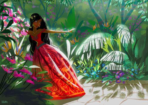Cinderella as an Indian Princess