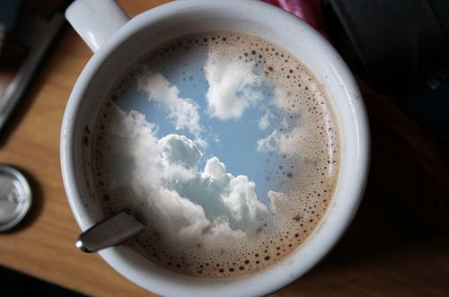 """i had some dreams they were clouds in my coffee  clouds in my coffee, and""  (a little kate hudson for ya)"