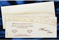 FairePart Mariage Blanc- #Invitation mariage classique http://www.tour-babel.com/invitation-mariage-classique.html