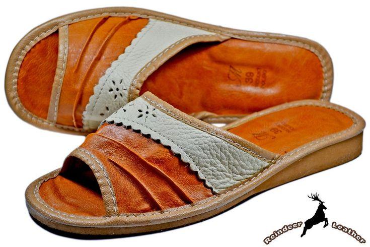 Lottie Summer Sheepskin Leather Slipper