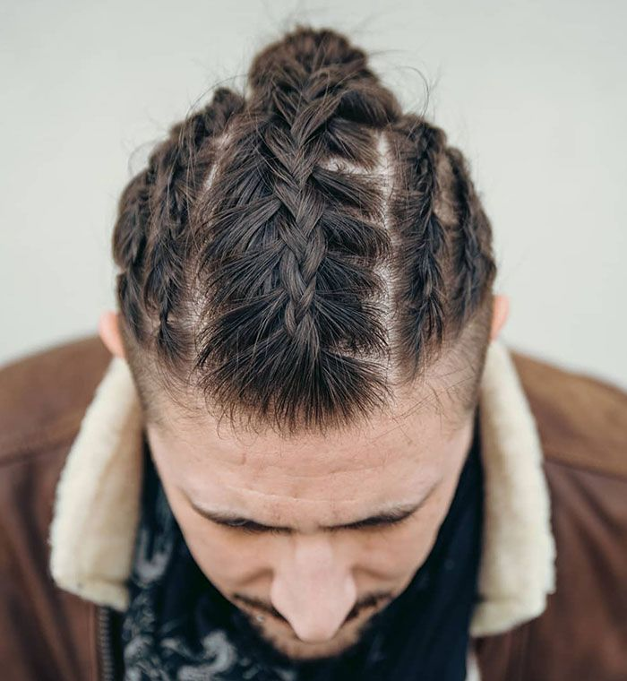 Fierce Viking Hairstyles For Modern Day Valkyries Viking Hair Viking Braids Mens Braids Hairstyles