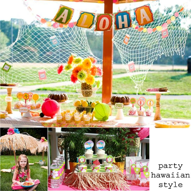 entertaining tips and trends hawaiian style luau party ideas