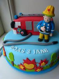 Afbeeldingsresultaat voor brandweer taart