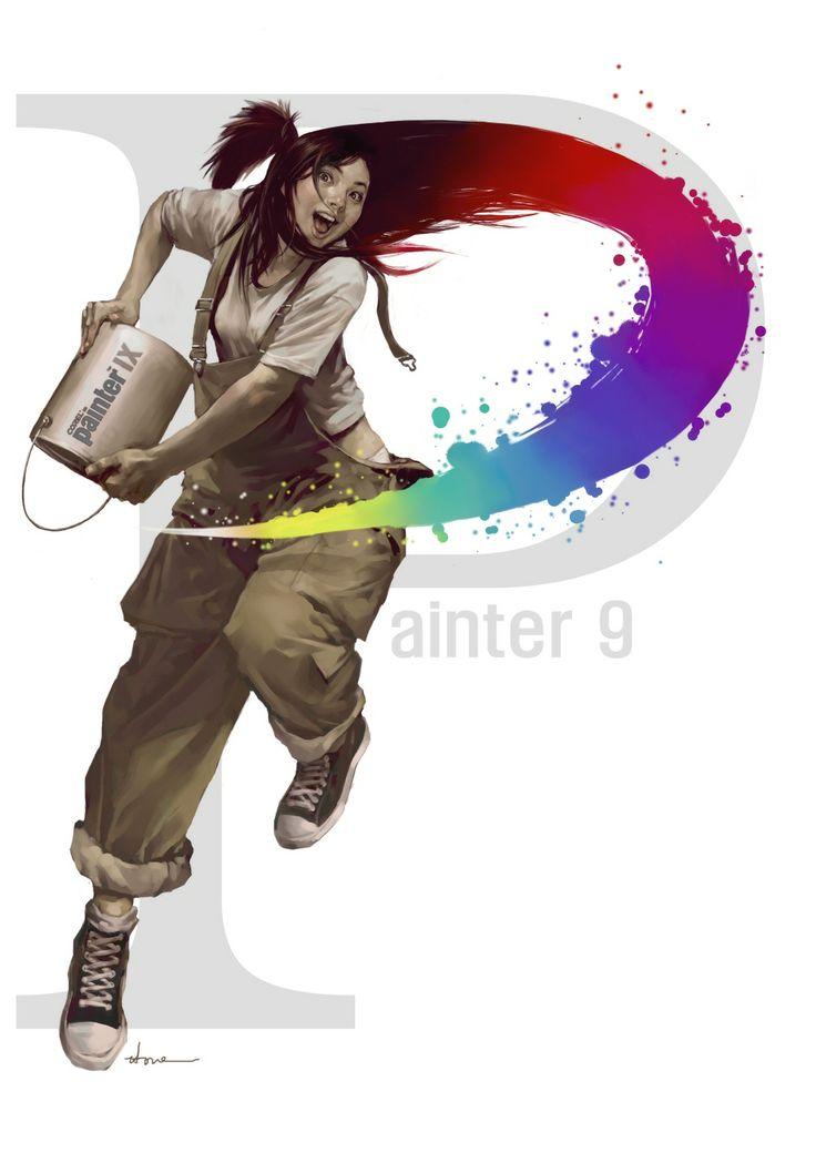 'Painter girl'  2005. painter9