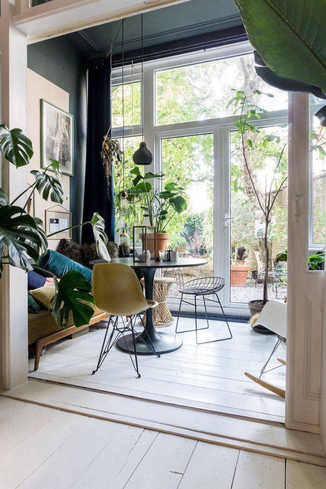 Une Maison Pleine De Lumiere Et De Plantes Planete Deco A Homes World Deco Maison Deco Maison Confortable