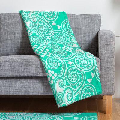 East Urban Home Budi Kwan Decographic Throw Blanket Size: Medium