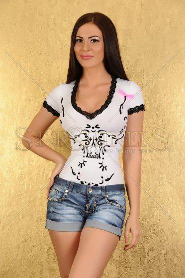 Body MissQ Seductive Art White