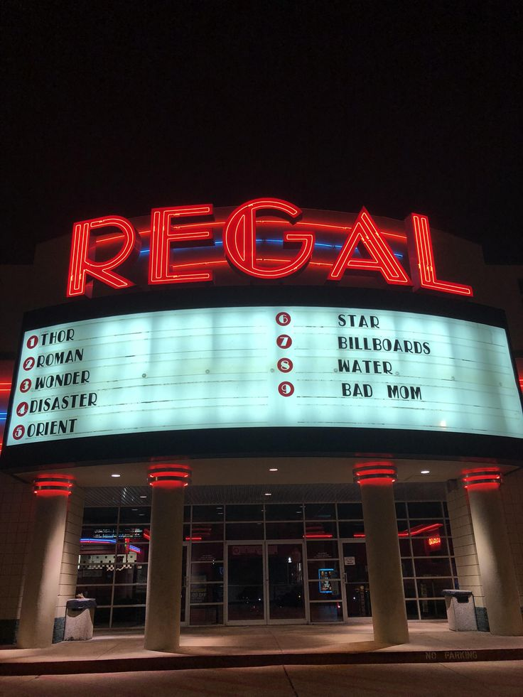 The movie theater near me only displays one word of the movies title