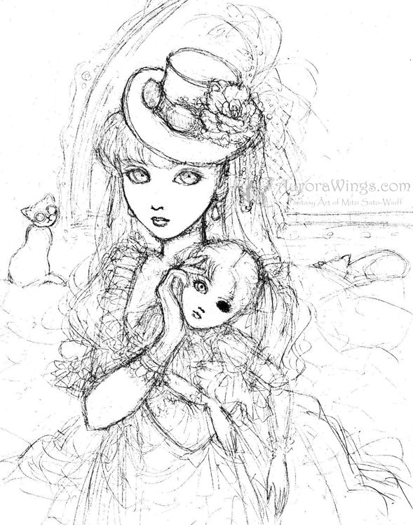 Anime dark angels coloring pages for Dark angel coloring pages