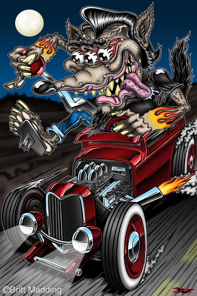 202 best hotrod art images on Pinterest | Car, Beer and Big daddy