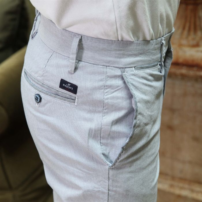 Pantalone Mason's New York Edition rigatino - Masons