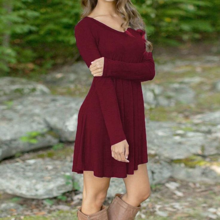 Lilly Long Sleeve Tunic Dress