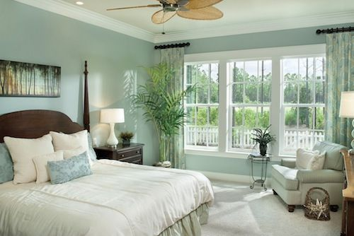 sea foam green bedroom color