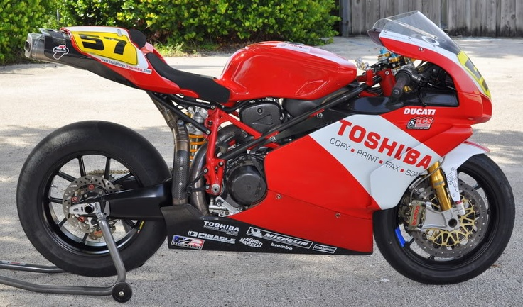 Ducati 999RS-An impressive amount of work has gone into this bike.