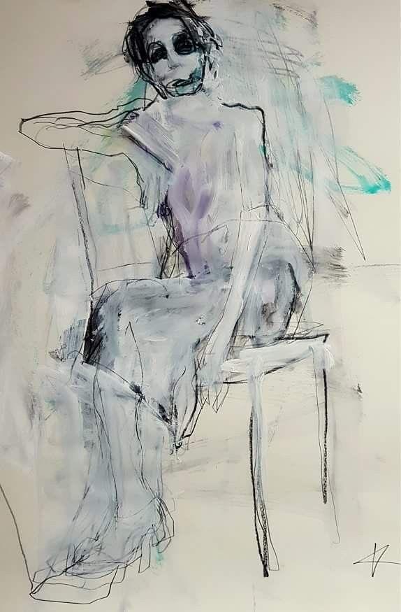 Idee Von Franzi Bohn Auf Aquarell Malerei Aquarell Figur