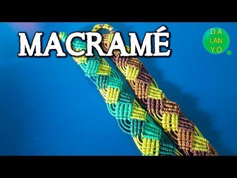 Pulsera de micro macrame ondas | Pulseras | Tutorial | Es.Pandahall.com…
