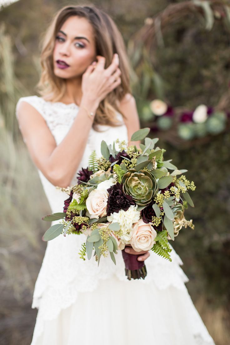 Photography: Jessica Lewis Photography - jessicalewisphoto.com  Read More: http://www.stylemepretty.com/california-weddings/2014/06/24/rustic-elegant-styled-winter-wedding-shoot-at-bodees-rancho-grande/