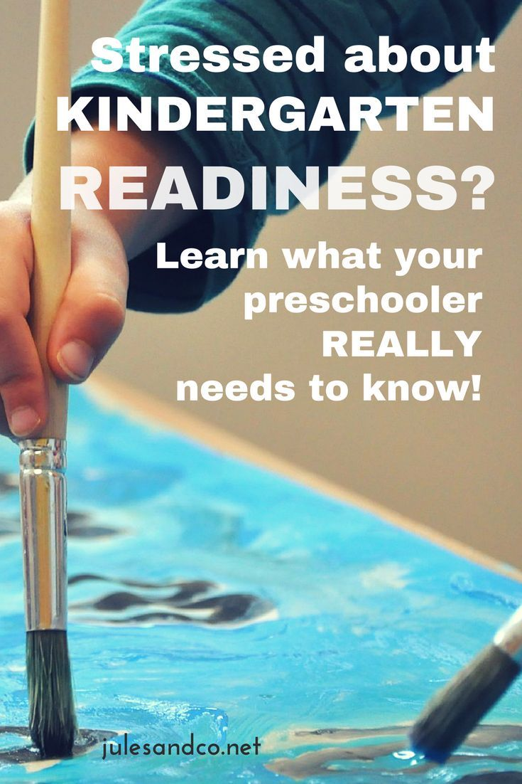 Stressed out about Kindergarten readiness? Find out what your preschooler really needs to know before entering school, and download a simple checklist to help you plan for success!
