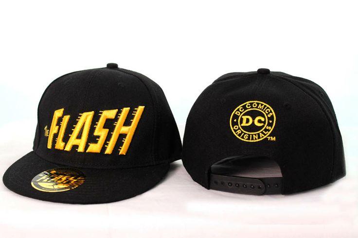 Gorra Béisbol The Flash. Modelo negro. DC Cómics Estupenda gorra al más estilo Béisbol 100% oficial y fabricada con los mejores materiales, 100% algodón para que los entusiastas del héroe The Flash.