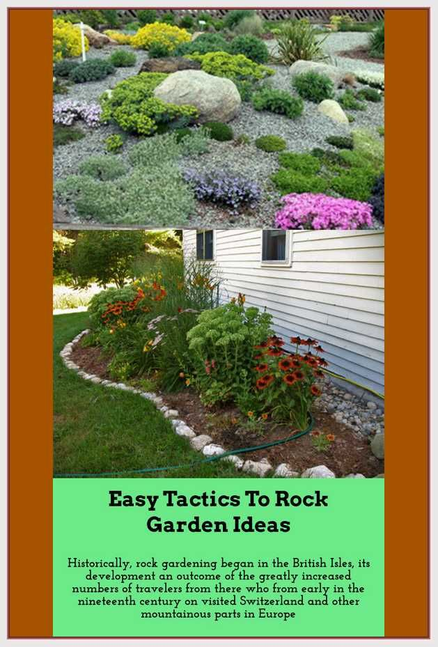 Make Your Dream Rock Garden By Using These Handy Tips Best