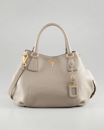 Prada | Daino Double-Handle Tote Bag