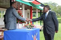 DAILY POST: UHURU hired EUGENE WAMALWA to get the LUYHA Votes, Do you agree?