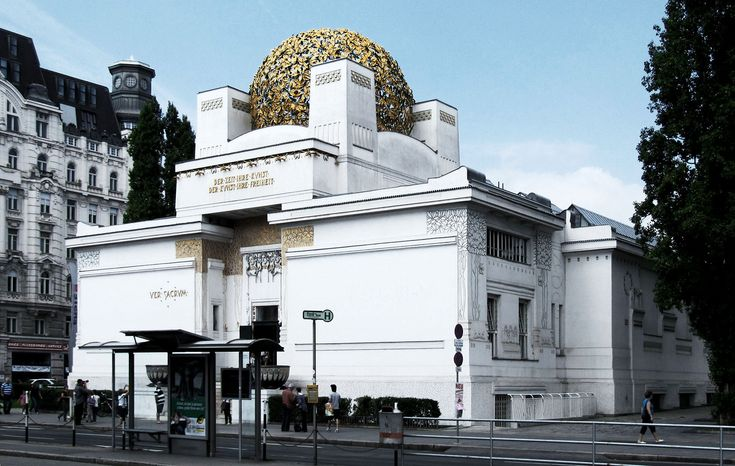 Building of Secession (1897-1898) - Joseph Maria Olbrich