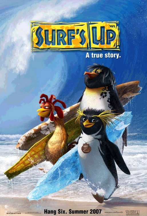 Cody Maverick in Surf's Up Movie