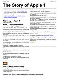 Apple, Apple 1, Steve Jobs, Steve Wozniak, Entrepreneur, Entrepreneurship, Business, Success, Successful, Believe,
