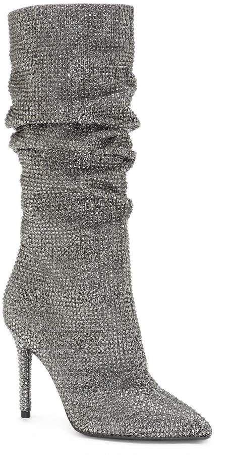 best website fresh styles buy good Jessica Simpson Layzer Rhinestone Wide Calf Slouch Boots ...