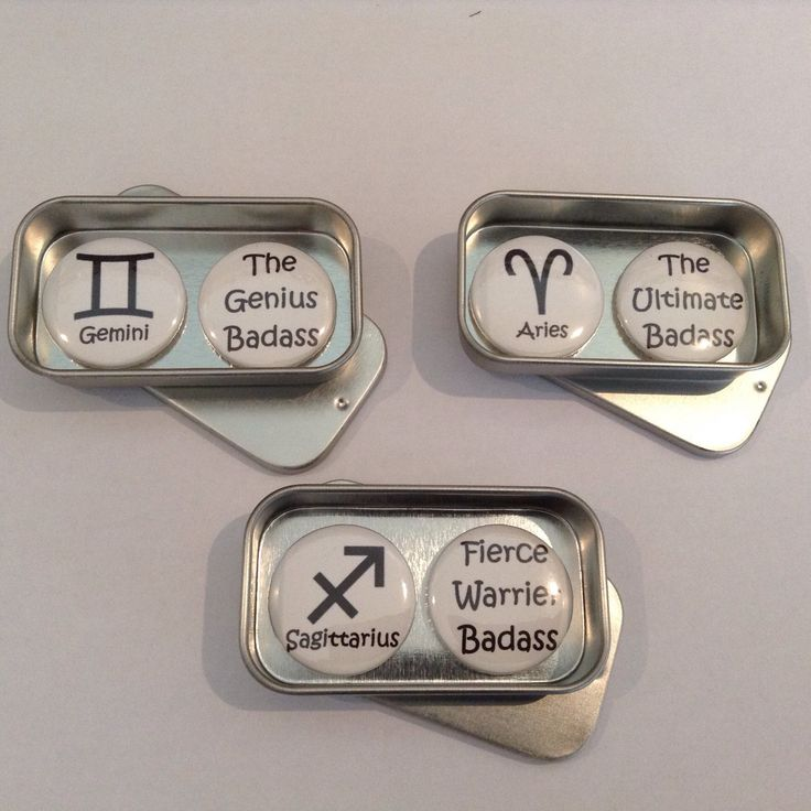 Fun Zodiac Badass gift magnets, perfect gift for any occasions. All Zodiac signs available