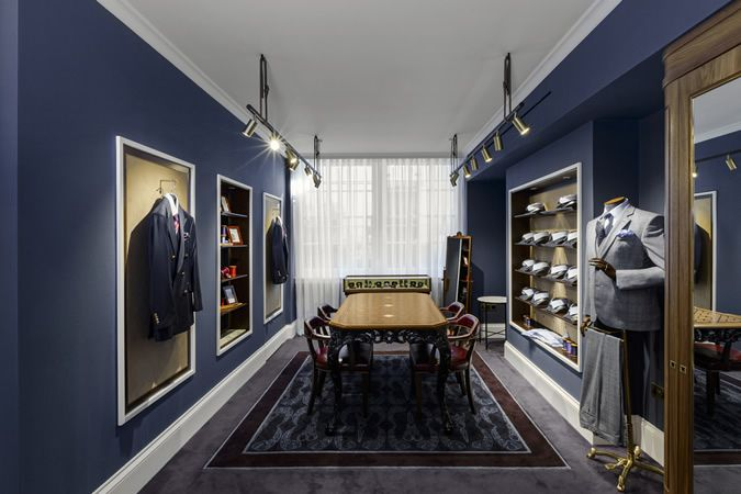 Turnbull & Asser Store, Davies Street, London