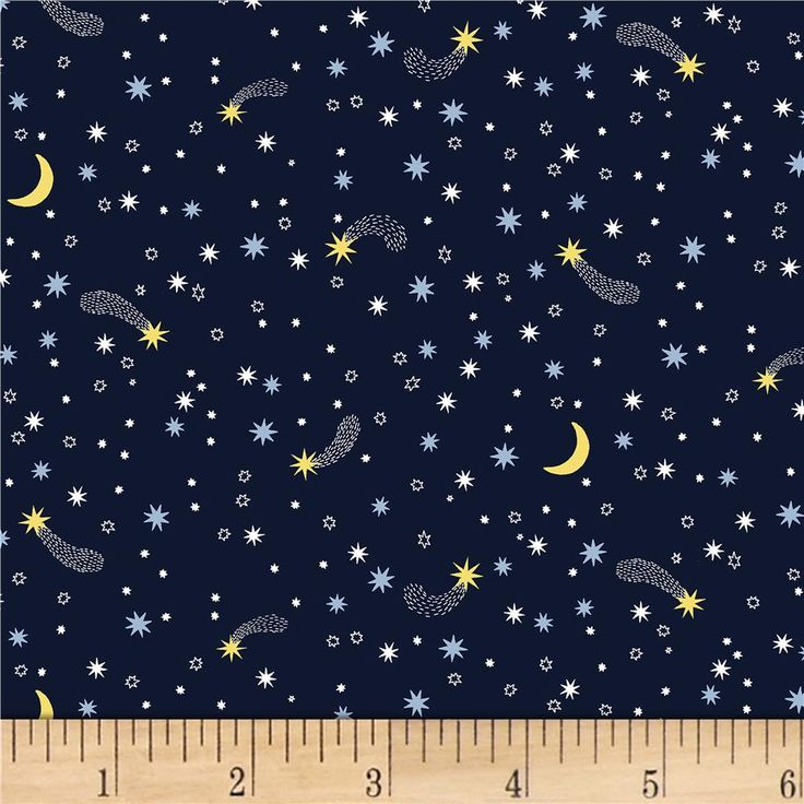 94 best fabric space and stars images on pinterest for Night sky print fabric