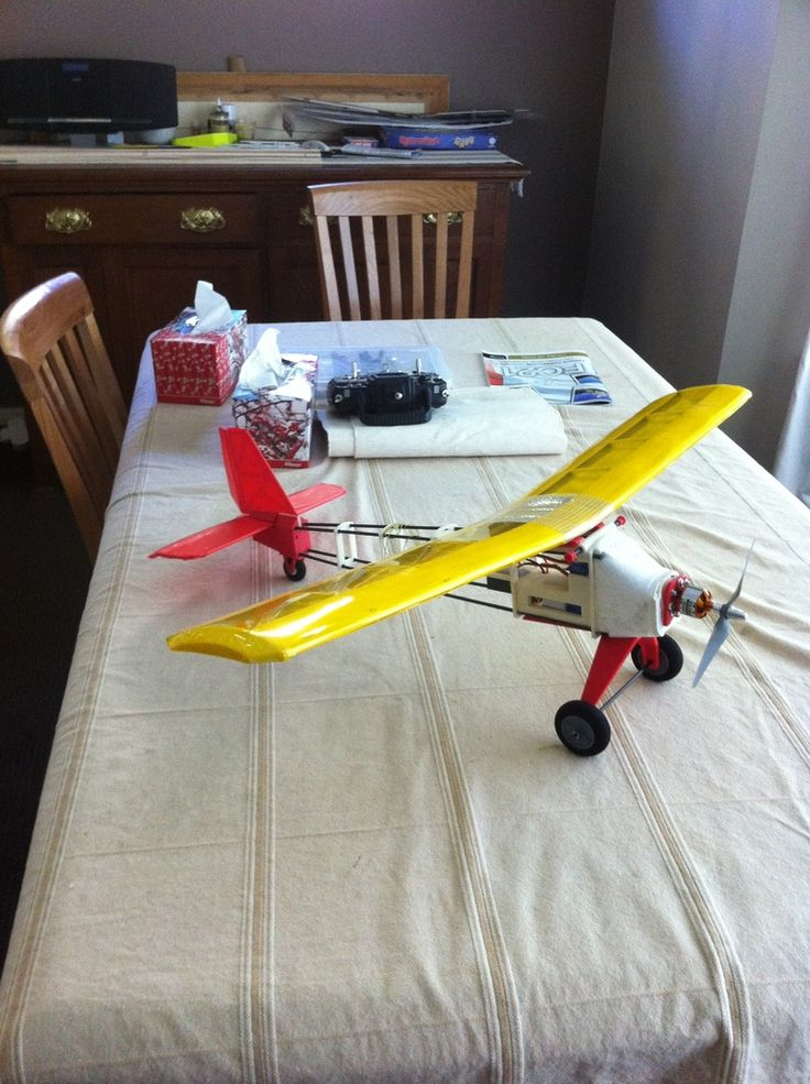 RC plane with brushless motor - ABS plastic and PS Foam hybrib by northshore.