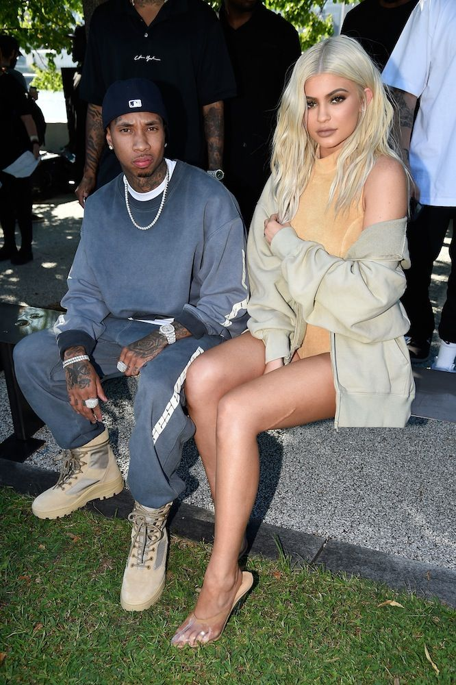 Tyga and Kylie Jenner, NYFW SS17: Yeezy Season 4
