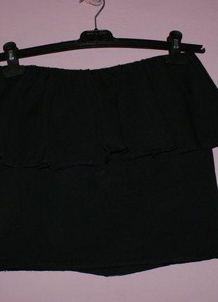 Kup mój przedmiot na #vintedpl http://www.vinted.pl/damska-odziez/spodnice/16538044-czarna-obcisla-spodnica-z-baskinka