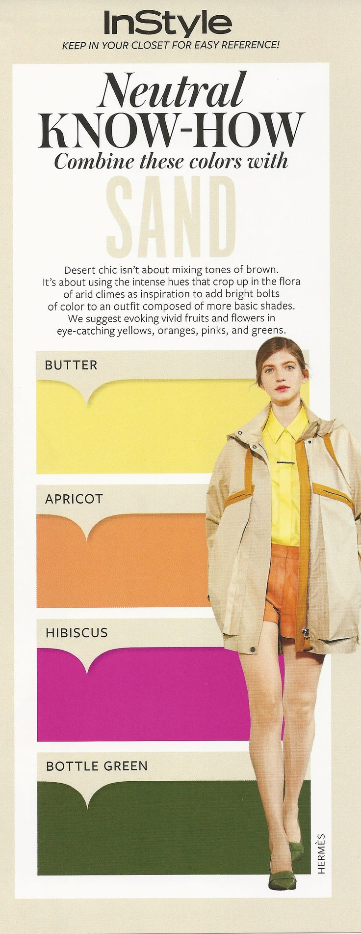 Neutral Know-How: Sand #instyle