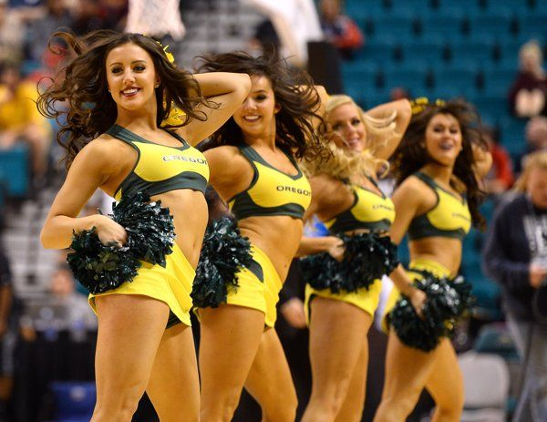NCAA Cheerleaders. The prettiest faces of March Madness 2014.