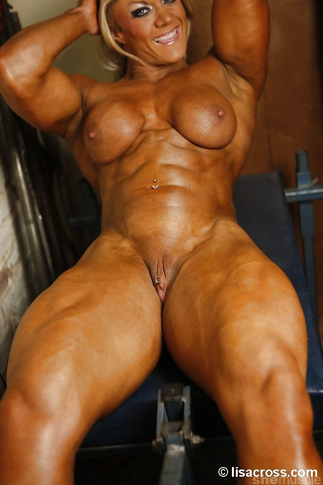 Free huge female bodybuilder big muscle women pussy pics