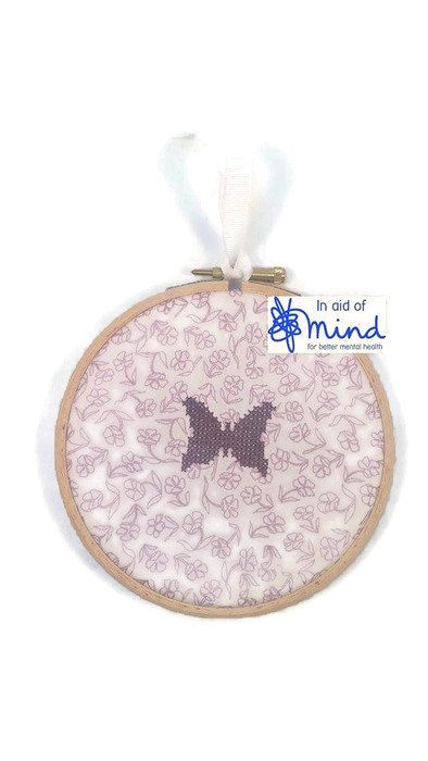 Small Butterfly Gift Purple Butterfly by hopetheblackdog on Etsy