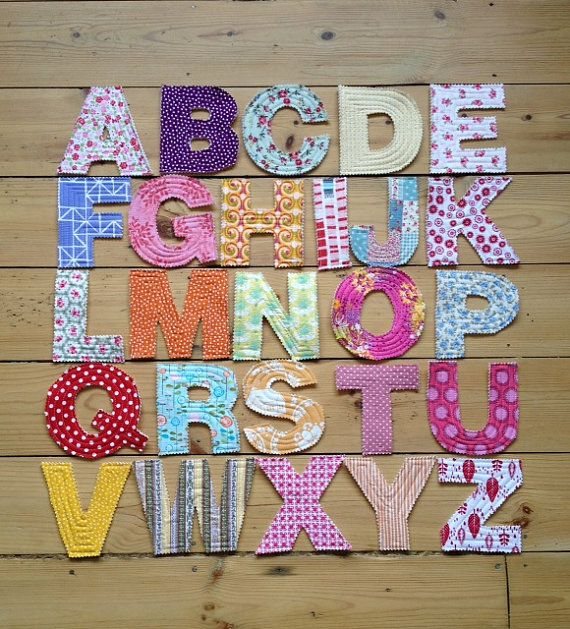 making learning fun tactile quilted fabric alphabet letters
